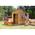 pinguïn houten speelhuisje